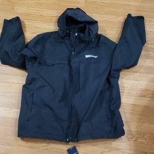 NWT Port Authority hooded jacket